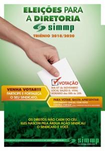 cartaz eleições