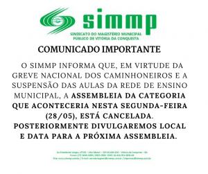comunicado SIMMP