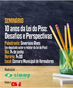 Seminário Lei do Piso